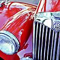 1955 Mg Tf 1500 Grille by Jill Reger