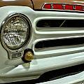 1955 Studebaker Headlight Grill by Michael Gordon
