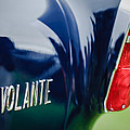1956 Aston Martin Short Chassis Volante Taillight Emblem by Jill Reger