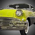 1956 Buick Special Riviera Coupe-yellow by Michael Porchik