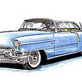 1956 Cadillac Coupe De Ville by Jack Pumphrey