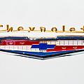 1956 Chevrolet 210 Emblem by Jill Reger
