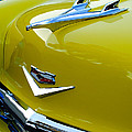 1956 Chevrolet Hood Ornament 3 by Jill Reger