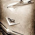 1956 Chevrolet Hood Ornament - Emblem by Jill Reger