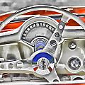 1956 Chevy Corvette Dash Wowc by Kevin Anderson