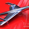 1956 Chevy Hood Ornament by Mary Deal