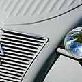 1956 Citroen 2cv Grille -0081c by Jill Reger