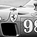 1956 Ferrari 410 Sport Scaglietti Spyder -1024bw by Jill Reger
