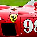1956 Ferrari 410 Sport Scaglietti Spyder by Jill Reger