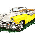 Ford Sunliner Convertible by Jack Pumphrey
