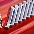 1956 Ford Thunderbird Emblem -278c by Jill Reger