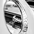 1956 Ford Thunderbird Latch -417bw by Jill Reger