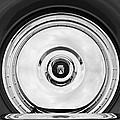 1956 Ford Thunderbird Spare Tire Emblem by Jill Reger