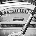 1956 Ford Thunderbird Steering Wheel -260bw by Jill Reger