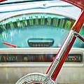 1956 Ford Thunderbird Steering Wheel -260c by Jill Reger