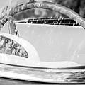 1956 Ford Thunderbird Steering Wheel -402bw by Jill Reger