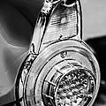 1956 Ford Thunderbird Taillight -247bw by Jill Reger