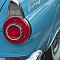 1956 Ford Thunderbird Taillight And Emblem by Jill Reger