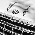 1956 Hudson Rambler Station Wagon Grille Emblem - Hood Ornament by Jill Reger