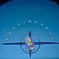 1956 Lincoln Continental Mark II Emblem by Jill Reger