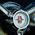 1956 Lincoln Continental Mark II Hess And Eisenhardt Convertible Steering Wheel Emblem by Jill Reger