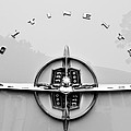 1956 Lincoln Continental Rear Emblem by Jill Reger