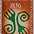 1956 Mexico Stamp by Bill Owen