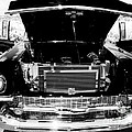 1956 Midnight Black Chevy by Deborah Fay