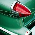 1956 Oldsmobile 98 Taillight by Jill Reger