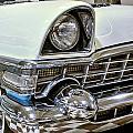 1956 Packard Caribbean Grill by Michael Gordon