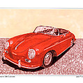 1956 Porsche 356 Cabriolet by Jack Pumphrey