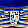 1956 Studebaker Golden Hawk Emblem by Jill Reger