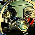 1956 Volkswagen Vw Bug Steering Wheel 2 by Jill Reger