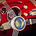 1956 Volkswagen Vw Karmann Ghia Coupe Steering Wheel 2 by Jill Reger
