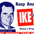 1956 Vote Ike And Dick by Historic Image