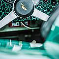 1957 Aston Martin Dbr2 Steering Wheel Emblem -2345c by Jill Reger