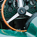 1957 Aston Martin Dbr2 Steering Wheel by Jill Reger