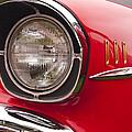 1957 Chevrolet Bel Air Headlight by Glenn Gordon