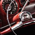 1957 Chevrolet Bel Air Steering Wheel by Gordon Dean II