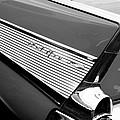 1957 Chevrolet Belair Convertible Taillight Emblem by Jill Reger