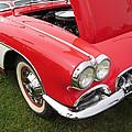 1957 Chevrolet Corvette by David Millenheft