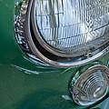 1957 Chevrolet Corvette Head Light by Jill Reger