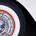 1957 Chevrolet Corvette Wheel by Jill Reger