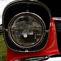 Old Car Headlight by Karl Rose
