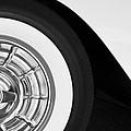 1957 Corvette Wheel by Jill Reger