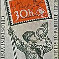 1957 Czechoslovakia Stamp by Bill Owen