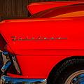 1957 Ford Fairlane Emblem -359c by Jill Reger
