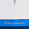 1957 Ford Fairlane Hood Ornament by Jill Reger