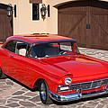 1957 Ford Fairlane by Jill Reger