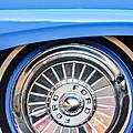 1957 Ford Fairlane Wheel by Jill Reger